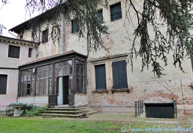 Palazzo Pomello Chinaglia Gartenseite