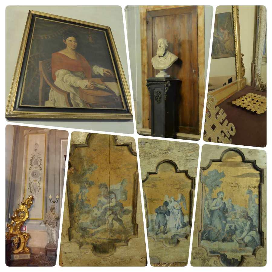 Palazzo Pomello Chinaglia rechter Salon